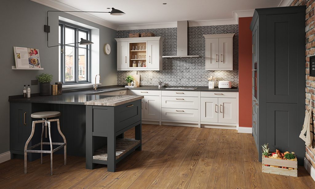 Grey Trend Three New Kitchen Colours, Grey Kitchen Cabinets What Colour Walls Uk